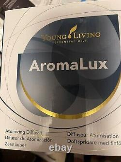 Young Living AromaLux Atomizing Diffuser 20th Anniversary NIB! Special$, eXtras