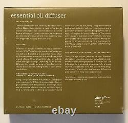 Young Living Essential Oil Diffuser, Rare Glass Nebulizing Diffuser, Brand New