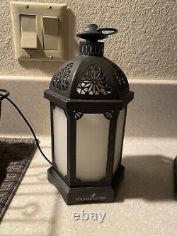 Young Living Essential Oil Lantern Diffuser Black Used
