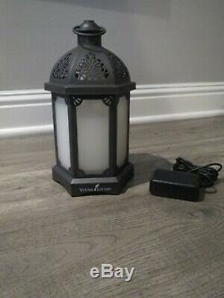 Young Living Essential Oil Limited Edition Charcoal Gray Lantern Diffuser, NIB