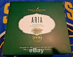 Young Living Essential Oil Ultrasonic Diffuser Aria Unopened In Box Remote +++