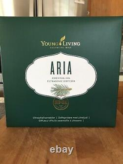 Young Living Essential Oils 4524 Aria Ultrasonic Diffuser NEW MODEL