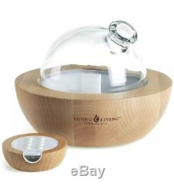 Young Living Essential Oils Aria Ultrasonic Glass Diffuser, Brand New In Box