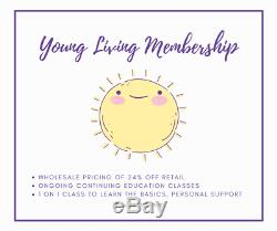Young Living Essential Oils BABY Starter Kit, Feather Owl Diffuser + MEMBERSHIP