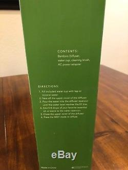 Young Living Essential Oils Bamboo Ultrasonic Diffuser DISCONTINUED ITEM