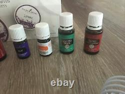 Young Living Essential Oils Lot And Brand New Young Living Diffuser