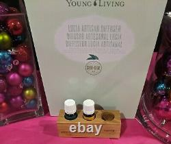 Young Living Essential Oils Lucia Artisan Diffuser withPeppermint & Citrus Fresh