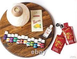 Young Living Essential Oils Premium Starter Kit with Diffuser