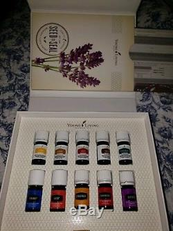 Young Living Essential Oils Premium Starter kit With Diffuser and 11 Oils