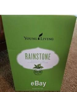 Young Living Essential Oils Ultrasonic Rainstone Diffuser NEW