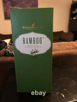 Young Living Essential oil Bamboo Diffuser Brand New