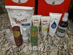 Young Living HUGE Essential Oils Lot with2 diffusers, oils, and more New WOW