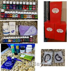 Young Living HUGE Essential Oils Lot with3 diffusers, oils and more! All NEW