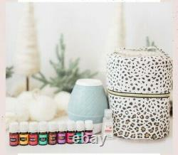 Young Living Holiday Starter Bundle Sweet Aroma Diffuser, Case, 9 Oils, Hand San