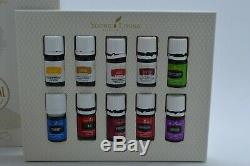 Young Living Kit Aria Diffuser With Essential Oils Collection