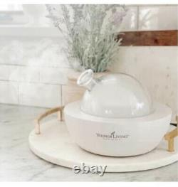 Young Living LIMITED EDITION Starter Kit White Aria Diffuser INCLUDES Membership