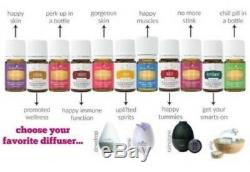Young Living Premium Starter Kit with Aria Diffuser NEW