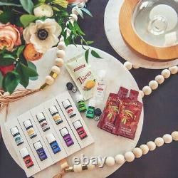 Young Living Premium Starter Kit with Aria diffuser- NEW + FREE SHIPPING