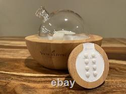 Young Living Puzhen Essential Oil Diffuser with Remote, Lights & Sounds PZ-UA12