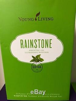 Young Living Rainstone Essential Oil Ultrasonic Home Diffuser #5331 New in Box