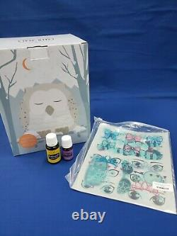 Young Living Snowy the Owl Diffuser SleepyIze Oil and KidPower Oil NEW SEALED