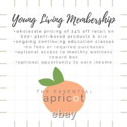 Young Living White Aria Diffuser, 5 Essential Oils Starter Kit, & Membership