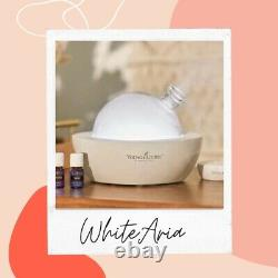 Young Living White Aria Diffuser Make it Happen Collection INCLUDES Membership