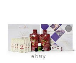 Young Living White Aria Diffuser With Starter Kit